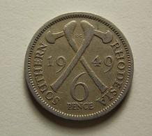 Southern Rhodesia 6 Pence 1949 - Rhodésie