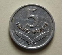 Mali 5 Francs 1961 - Münzen