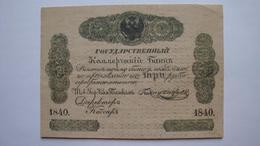 3 Rubles 1840 - Russie