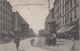 CPA Lyon - Les Charpennes - Cours Emile Zola (avec Très Jolie Animation) - Autres