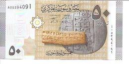 Syria  P-112  50 Pounds  2009   UNC - Syrie