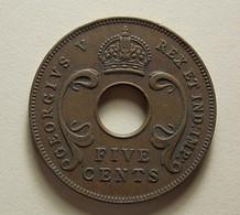 East Africa 5 Cents 1933 - Colonie Britannique