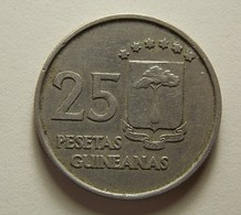 Equatorial Guinea 25 Pesetas 1969 - Guinée Equatoriale