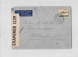 8981 HELVATIA GLION SUR MONTREUX TO WEEHAWKEN NEW JERSEY USA - Suisse