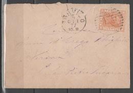 ITALIA 1877 - Effigie 20 C. Su Lettera                  (g5502) - Marcofilie