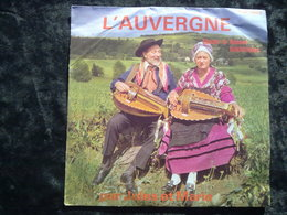 L'Auvergne, Chants Et Danses Folkloriques Par Jules Et Marie/ 45t GJM 10019 - Vinyl Records