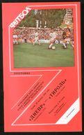 Official Football Programme Dnipro (Dnepropetrovsk) - Tirol (Innsbruck, Austria) 1989 (calcio, Soccer) - Programs