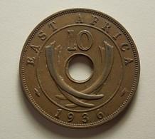 East Africa 10 Cents 1936 - Colonie Britannique