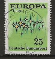 1972-Europa - Oblitérés
