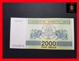 GEORGIA 2.000 Kuponi 1993  P. 44  UNC - Géorgie