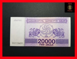 GEORGIA 20.000 Kuponi 1994  P. 46 B  UNC - Géorgie