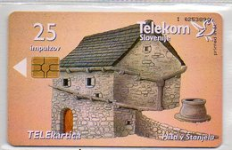 Telekom Slovenije - 25 Imp. - BUILDINGS - Eslovenia