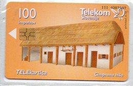Telekom Slovenije - 100 Imp. - BUILDINGS - Eslovenia