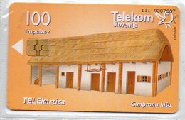 Telekom Slovenije - 100 Imp. - BUILDINGS - Slovénie