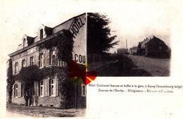 Hôtel Coulouval-Larose Et Buffet à La Gare à GOUVY (Luxembourg-Belge) - Sources De L'Ourthe - Villégiature- Alt. 460 Mèt - Gouvy