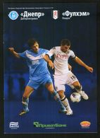 Official Football Programme Dnipro (Dnepropetrovsk, Ukraine) - Fulham (London, England) 2011 (calcio, Soccer) - Programs