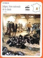 03 JALIGNY FOIRE NATIONALE DE LA DINDE Allier  AUVERGNE Géographie Fiche Illustrée Documentée - Géographie