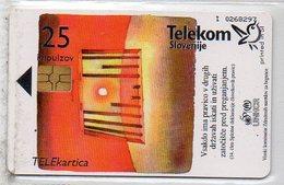 Telekom Slovenije - 25 Imp. - UNHCR - Slovenia