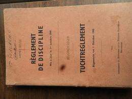 Armée Belge. Règlement De Discipline M.à.j. Le 1 Oct. 1945 - Historia