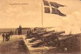 Flagbatteriet Saluterer (canon) - Danemark