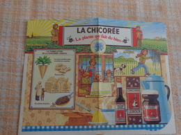 Petit Calendrier Pub 1986-chicoree Leroux - Calendriers