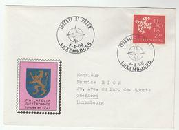 1966  NATO DAY Luxembourg EVENT Cover  Europa Stamps - NATO