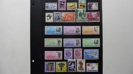 Afrique > Rwanda :25 Timbres Oblitérés - Collections