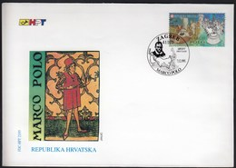 Croatia Zagreb 1995 / Explorer Marco Polo / FDC - Explorateurs