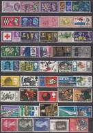 GB 1960-1971 - Lot 46 Verschiedene Mit 3 Kompl. Sätzen   Used - 1952-.... (Elisabeth II.)