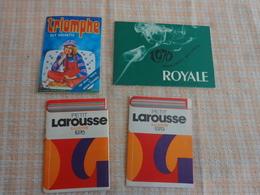 Petit Calendrier Pub 1970--1976-1979-guy Hachette-larousse-seita Ariel Mentholee - Calendriers
