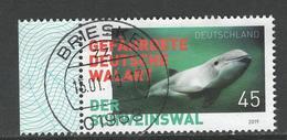 Duitsland, Mi Jaar 2019 Der Schweinswal,  Prachtig  Gestempeld - Oblitérés
