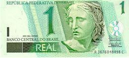 Brazil P.251 1 Real 2003  Unc - Brésil