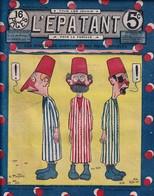 Rare Revue L'épatant Les Pieds Nickelés 29 Décembre 1910 - Otras Revistas