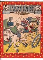 Rare Revue L'épatant Les Pieds Nickelés 5 Janvier 1911 - Otras Revistas