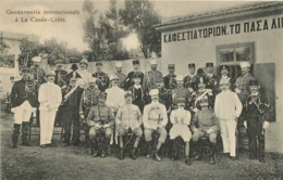 CRETE LA CANEE GENDARMERIE INTERNATIONALE - Greece