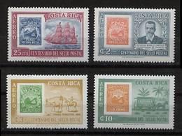 Costa Rica Mi# 626-29 ** Marken 100 Jahre 1963 - Costa Rica