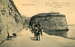SOUVENIR DE CRETE  LA CANEE FORTIFICATIONS PORTE CUM-CAPU - Greece