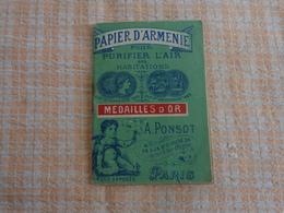 Papier D'armenie (10 Languettes A Bruler) - Advertising