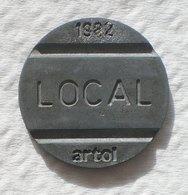 Brasil Telephone Token 1982 LOCAL Artol  SISTEMA TELEBRAS Logo  10 - Noodgeld