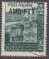 TRIESTE ZONA A - 1949 -  Yvert 63 Usato. - 7. Trieste