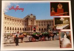 Ak Österreich - Wien  - Hofburg - Kutsche - Wien