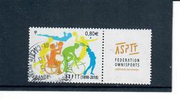 Yt 5208 Asptt Cachet Rond - France