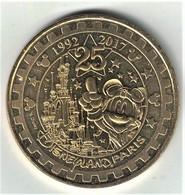 Monnaie De Paris 77.Disneyland 40 Mickey 25 Ans 2017. Neuve - 2017