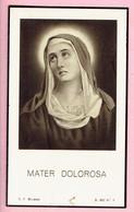 Bidprentje - Anna Maria BELDERBOS Wed. Julius Cornelius DE GRIJSE - Wilrijk 1866 - Hoboken 1938 - Religion &  Esoterik
