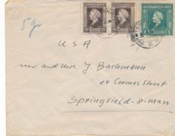 Nederlands Indië - 1948 - Fl 1,40 Frankering Op Cover Van PV2 SINTANG Naar Springfield / USA - Nederlands-Indië