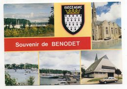 BENODET --1994--Multivues --blason --timbre --cachet CLOHARS-CARNOET --centenaire Charles Filiger - Bénodet