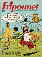 Rare Revue Fripounet N°17 Du 23 Avril 1970 - Fripounet