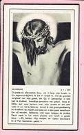 Bidprentje - Josephus VAN TURNHOUT Wed. Maria DEKNOCK - Merksem 1881 - Antwerpen 1951 - Religion &  Esoterik