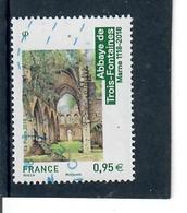 Yt 5242 Abbaye Des Trois Fontaines - France