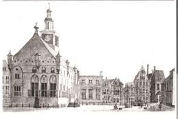 Dordrecht - Stadhuis-Lombardbrug - Tekening J. Hoolaart -  1776  (AK3276) - Dordrecht